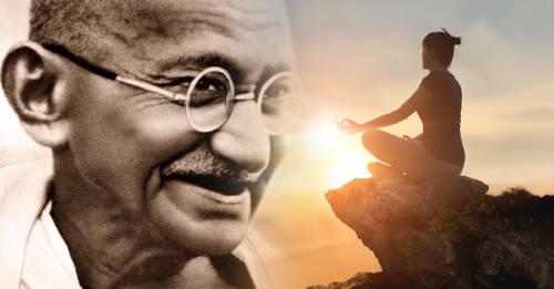 Frases de Gandhi para recordar que la violencia nunca es el camino