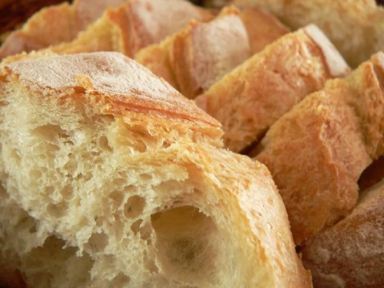 Pan de harina blanca refinada