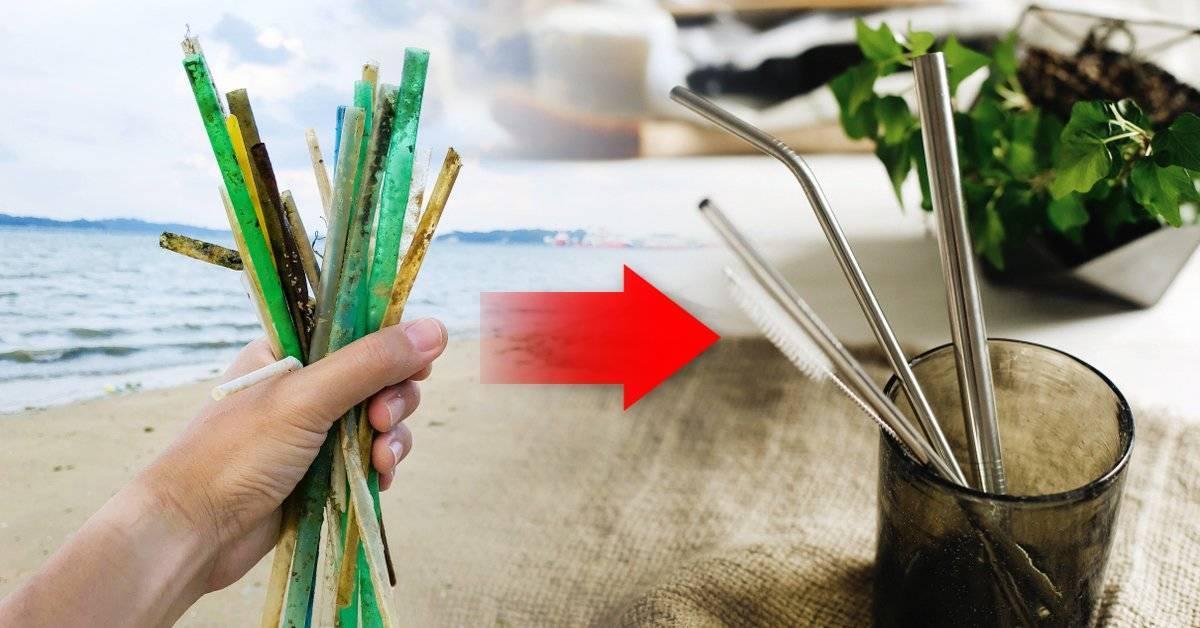5 pasos para sacar el plástico de tu vida