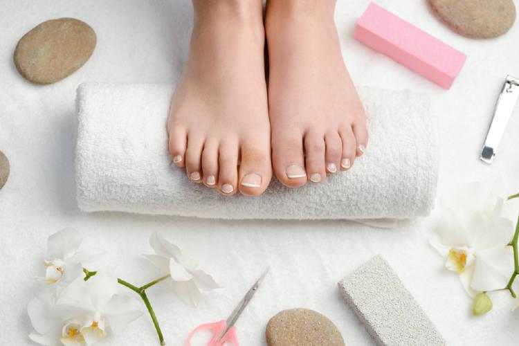 Belleza y cuidado de los pies