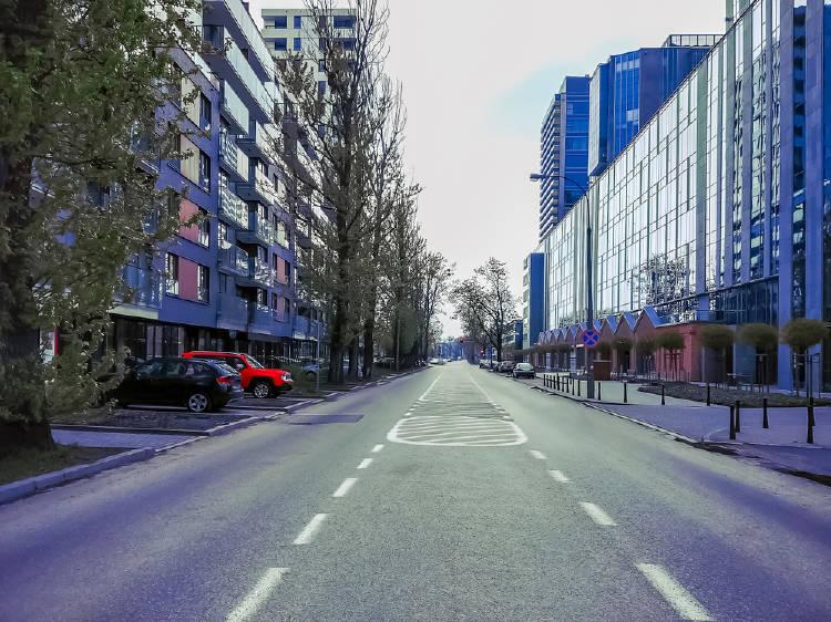 ciudad vacia