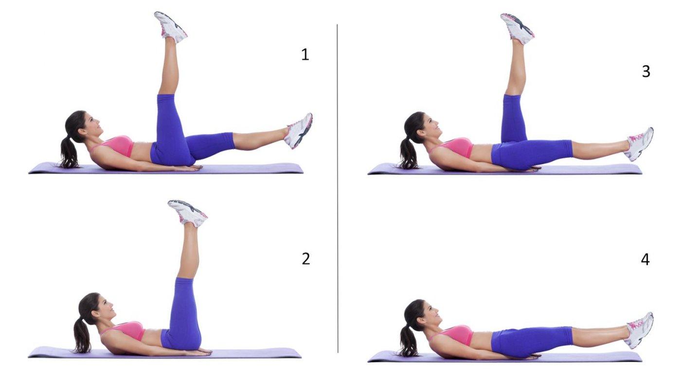 ejercicios para abdominales superiores inferiores y oblicuos
