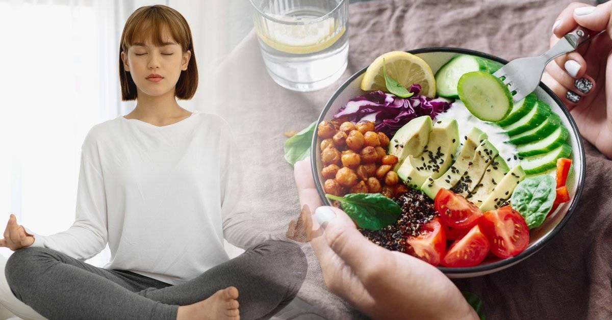 Cómo librarte de la negatividad antes de comer