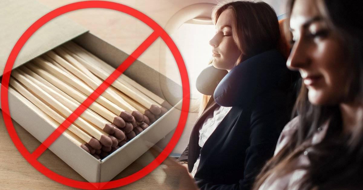8 cosas que no puedes llevar en un avión: conócelas y evita arruinar tus vacaciones