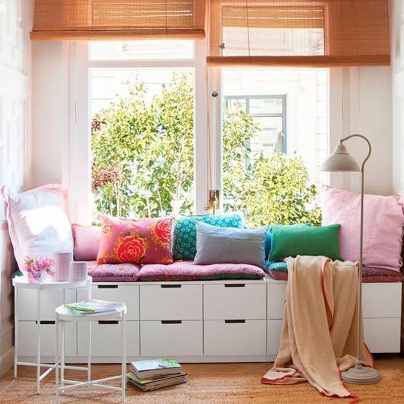 17 ideas para crear rincones en la ventana