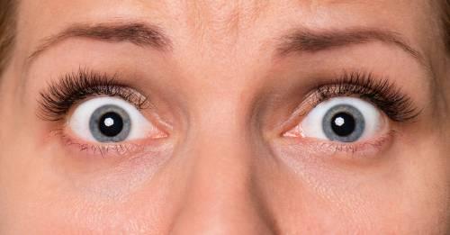 ¿Por qué abrimos los ojos cuando tenemos miedo?