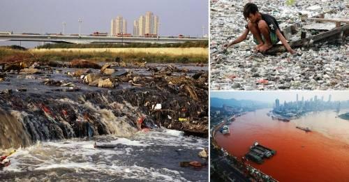 Así es la vida de quienes viven a lo largo del río más poblado y contaminad..