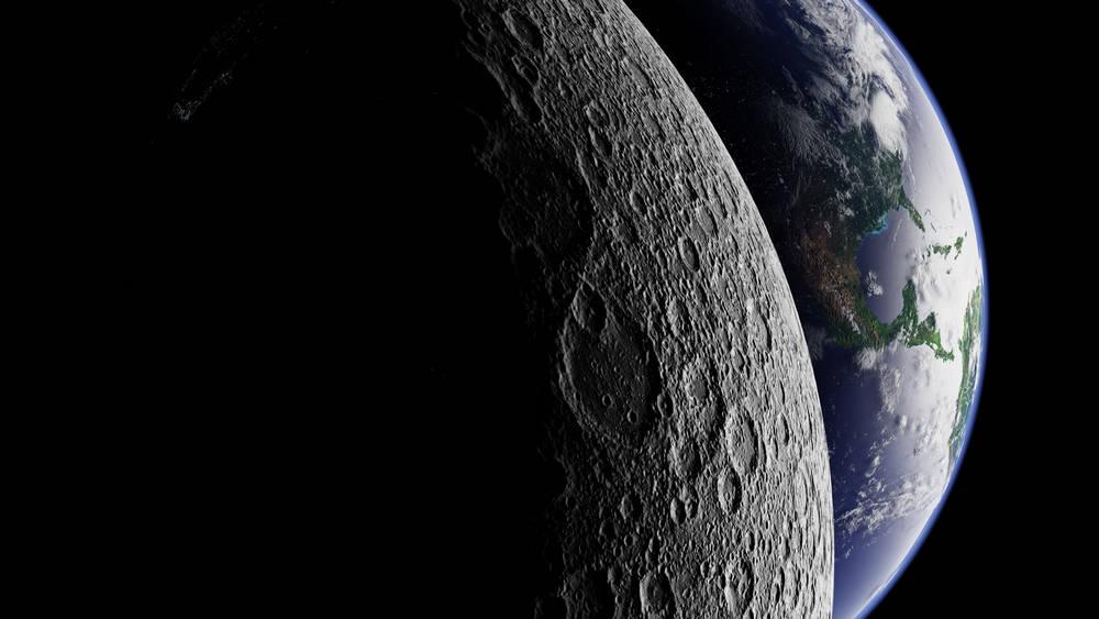 Imágenes revelan qué se esconde en el lado oscuro de la luna