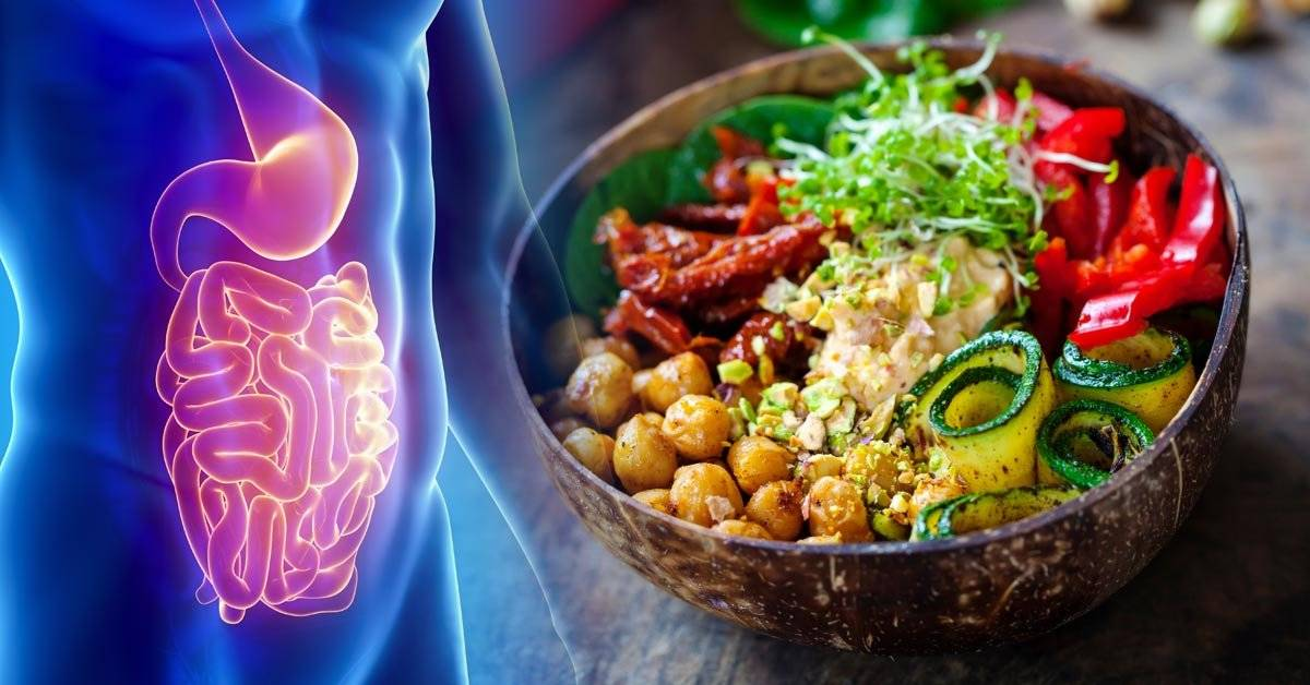 Estos son los beneficios de una dieta vegana para la salud digestiva