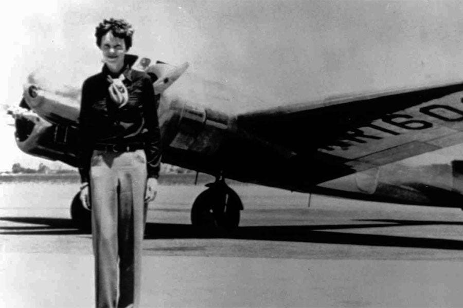 Desde pequeña, Amelia Earhart se involucraba en actividades tradicionalmente atribuidas a los chicos