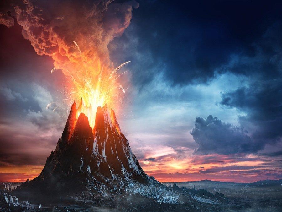 Una erupción volcánica podría haber extinguido los dinosaurios