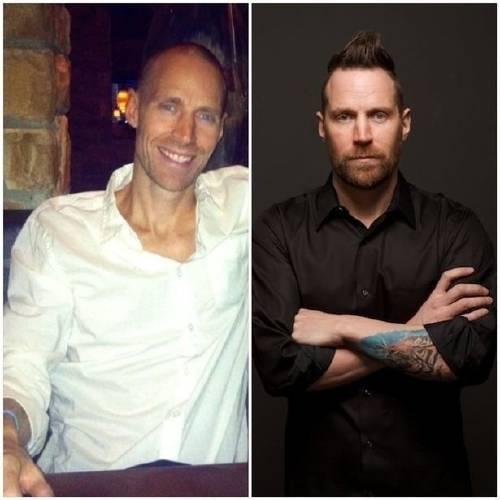 El antes y después de este hombre al que el amor lo motivó para darle pelea ..
