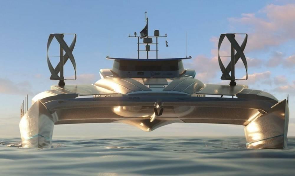 Un barco dará la vuelta al mundo solo con energía solar, eólica y combustib..