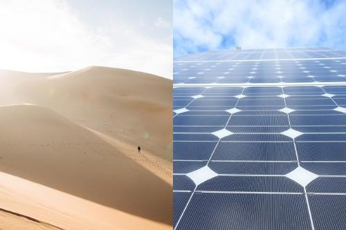 El 1,2% del Sahara podría abastecer con energía solar a todo el mundo