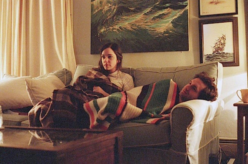 pareja aburrida