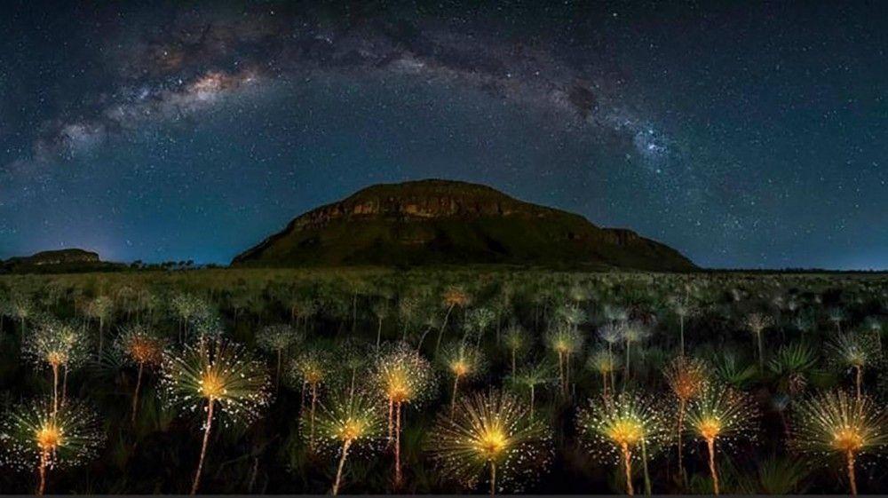 La fotografía ganadora en la categoría Long Exposition, es la del Parque Nacional de Veadeiros, en Brasil, de Marcio Cabral