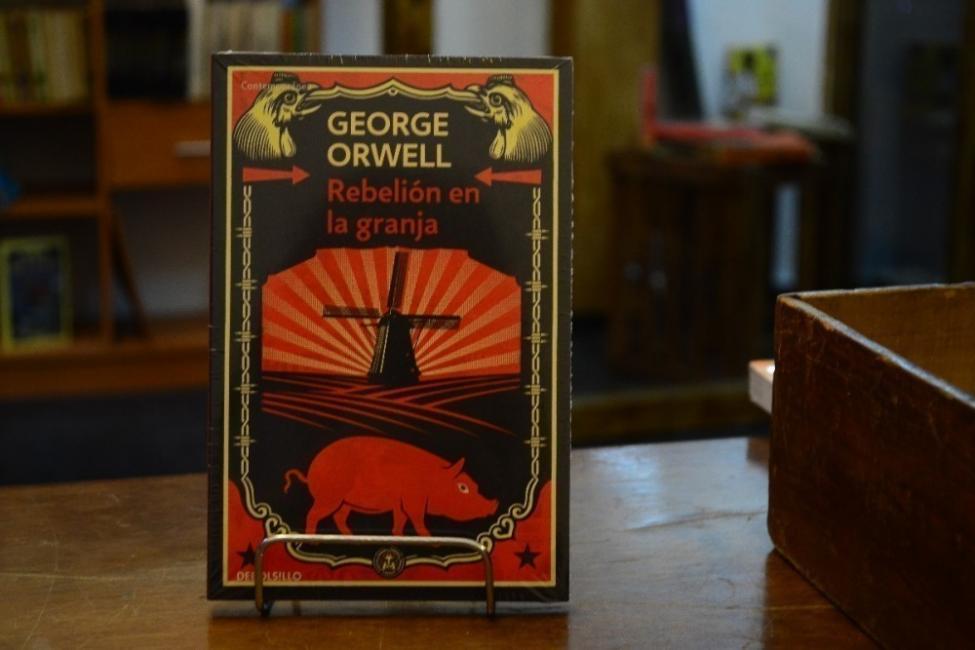 Novelas cortas: rebelión en la granja