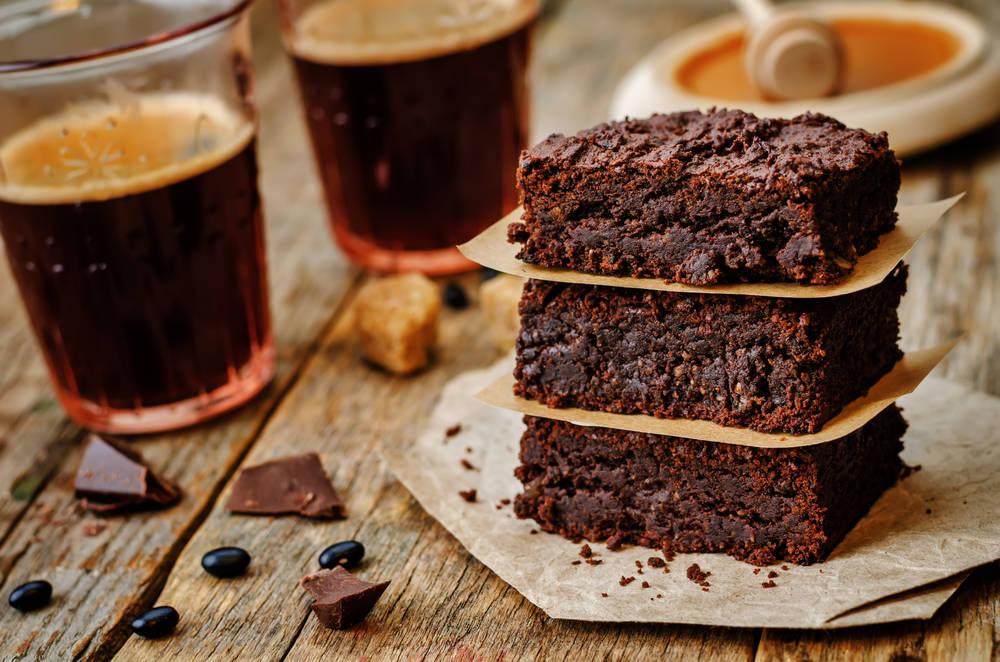 Brownies fáciles y saludables, libres de gluten y lácteos
