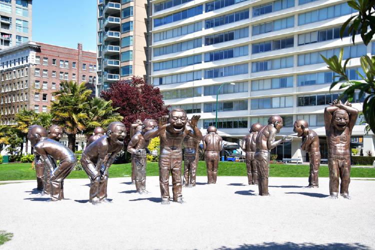 estatuas risa