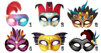 Elige una máscara y descubre quién eres realmente
