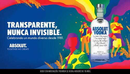 """Absolut Vodka reafirma su compromiso con su nueva campaña: """"Transparente, nunca"""