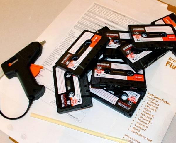 Ideas para reutilizar casetes