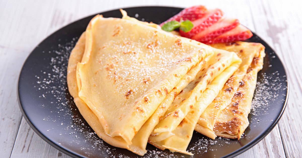 Deliciosos crepes gluten free para desayunar como te mereces