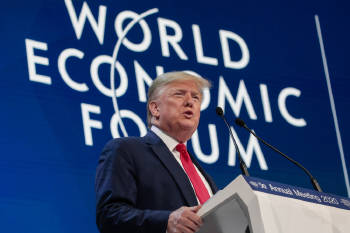 trump foro economico mundial
