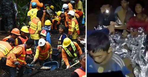 Tailandia: el intenso y emocionante rescate contrareloj de 12 niños atrapados en una cueva