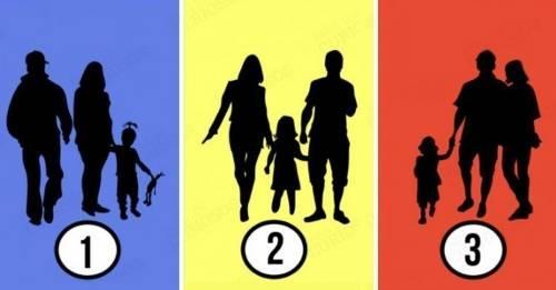 Dinos cuál de estas siluetas NO es una familia y descubre lo que significa tu..