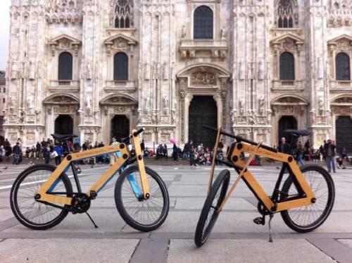 Sandwichbike: si puedes hacer un emparedado, puedes armar esta bicicleta