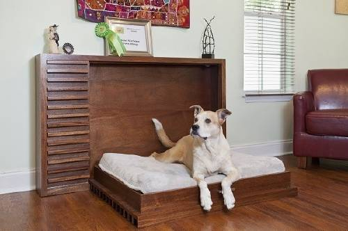 Ingenioso sofá-cama para mascotas