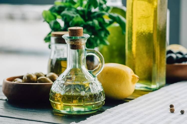 aceite oliva limon aceitunas