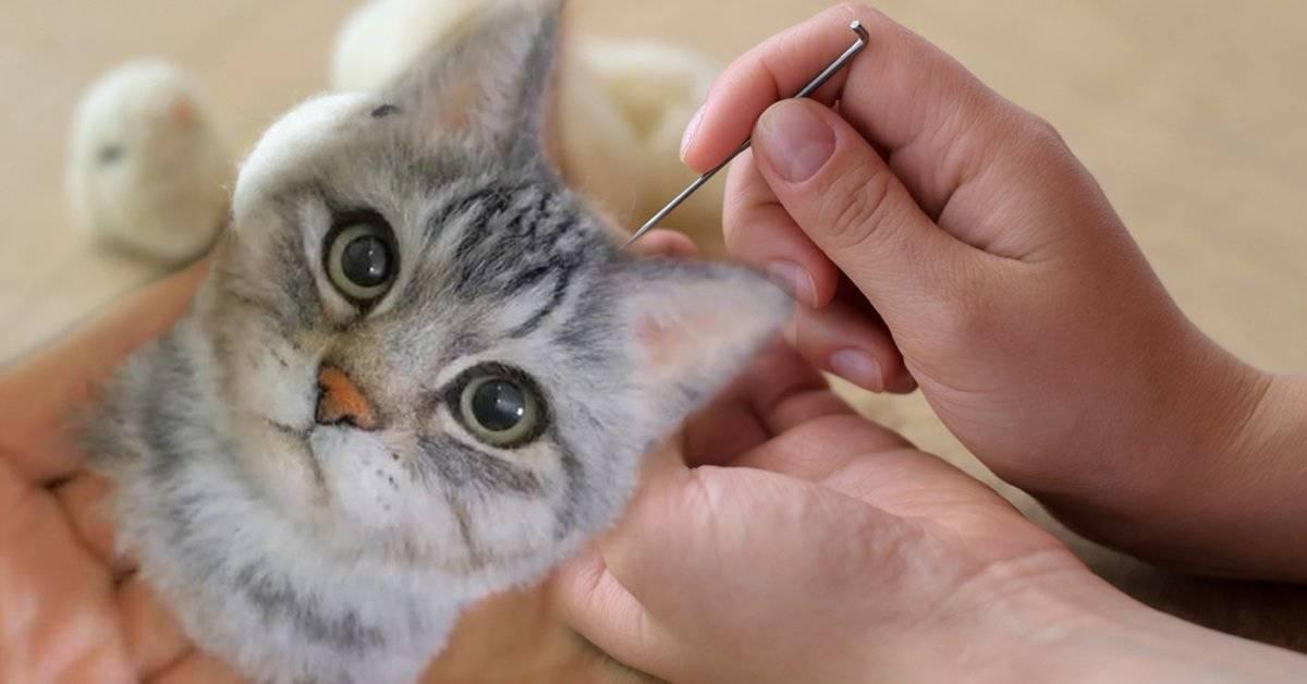 Mujer japonesa crea hermosos retratos realistas de gatos y deja a todos con la boca abierta