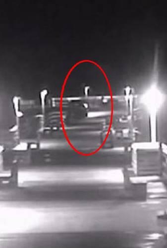 Captan a supuesto fantasma que apareció tras tormenta 'Florence'