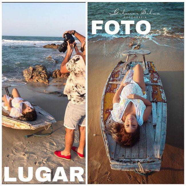 fotografía balsa