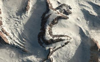 Conoce la asombrosa montaña con imagen de una mujer dormida
