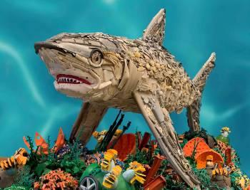 tiburon plastico