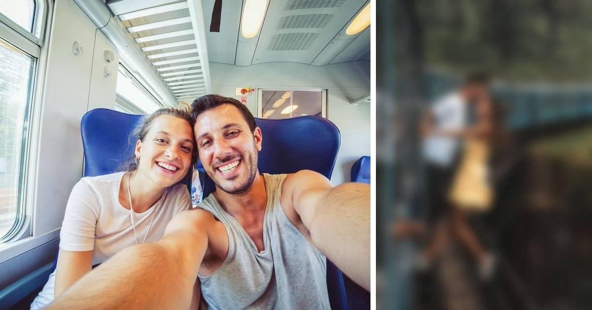 Una pareja hizo esto solo para sacarse una selfie y desató una polémica