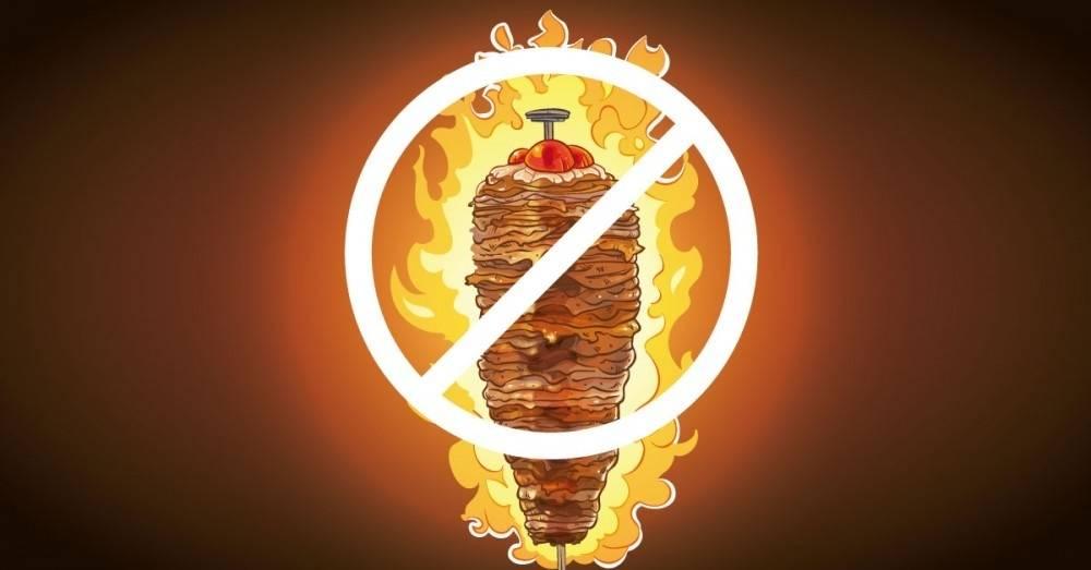 Los kebabs podrían prohibirse en Europa y la razón es que son muy peligrosos
