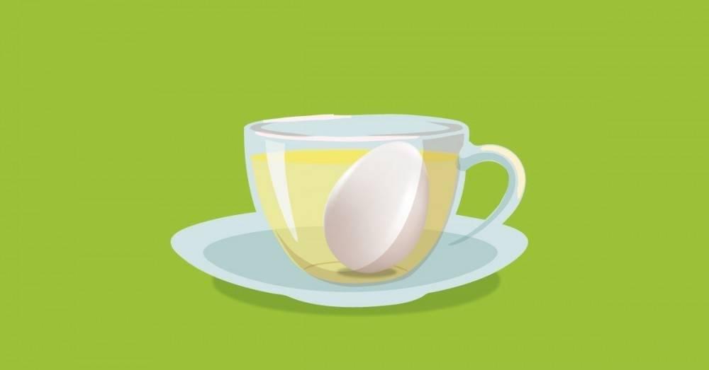 Cómo hacer y para qué sirve una infusión de cáscara de huevo