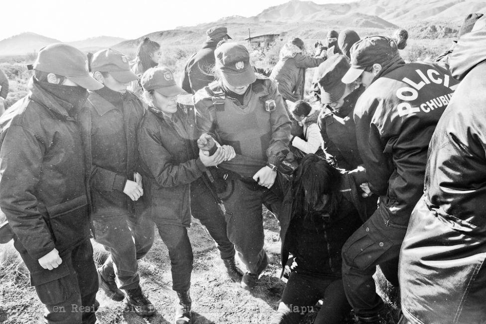 represión chubut, argentina