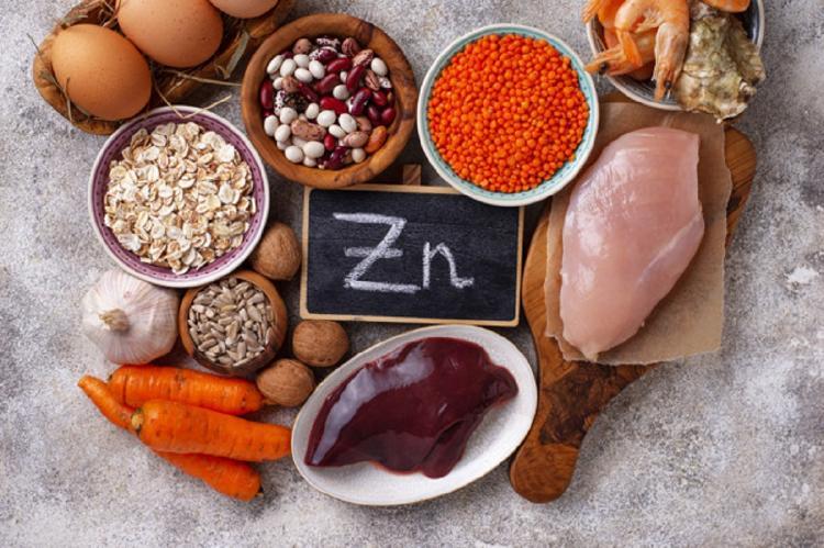 zinc en alimentos