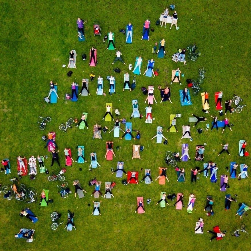 16 espléndidas imágenes tomadas desde el aire