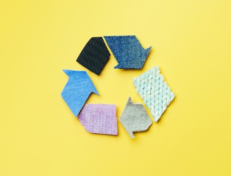 reutilizar desechos textiles