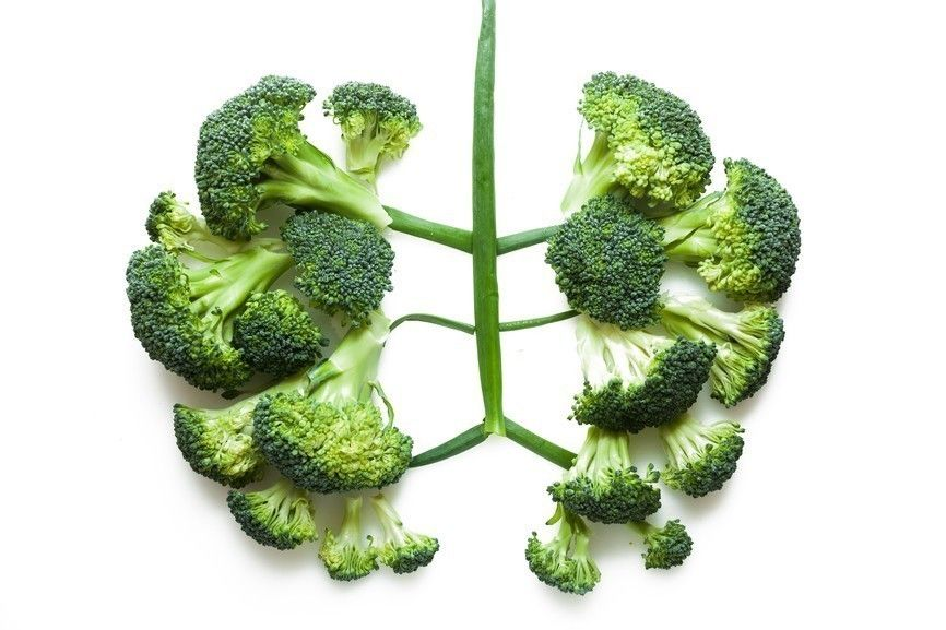 Pulmones de brócoli
