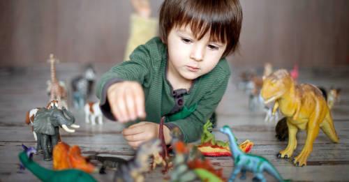 Los niños que aman los dinosaurios tienen una extraordinaria cualidad