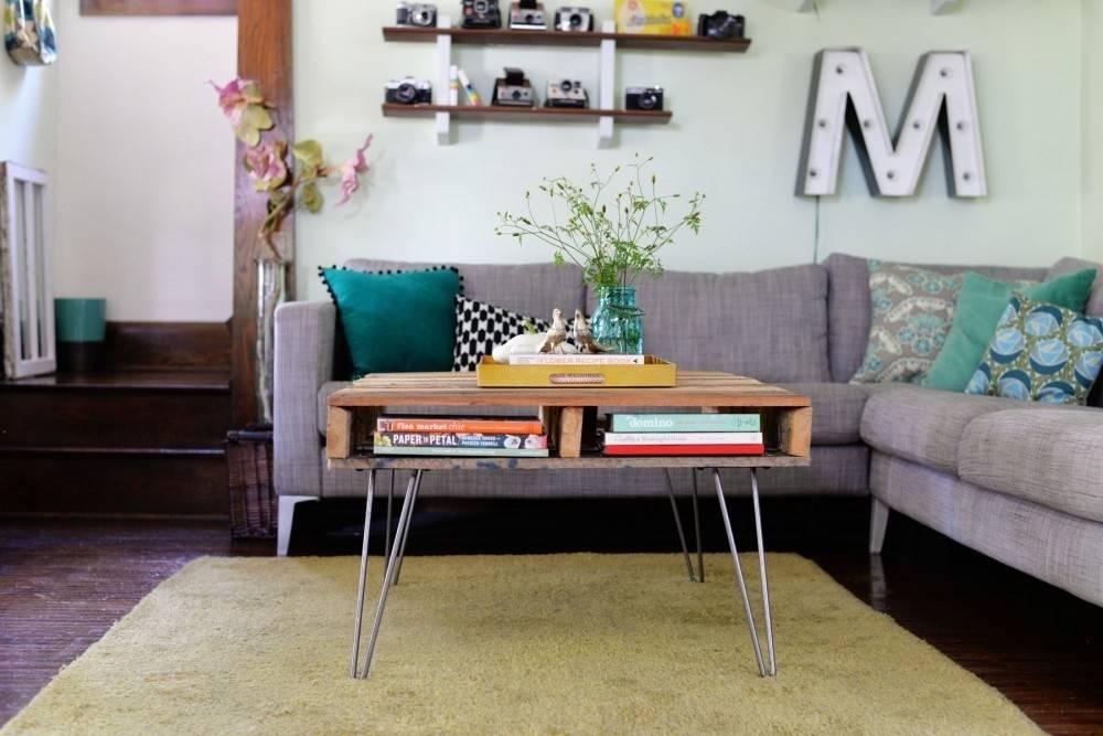 Cómo hacer una mesa de diseño con pallets