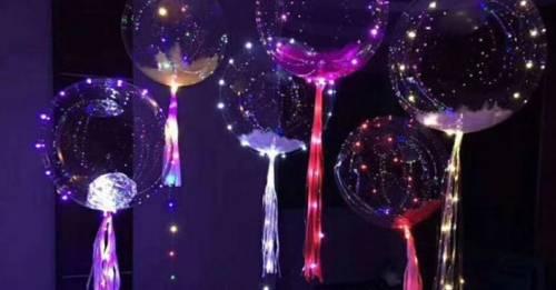 Aprende cómo crear el asombroso globo brillante del que todos hablan