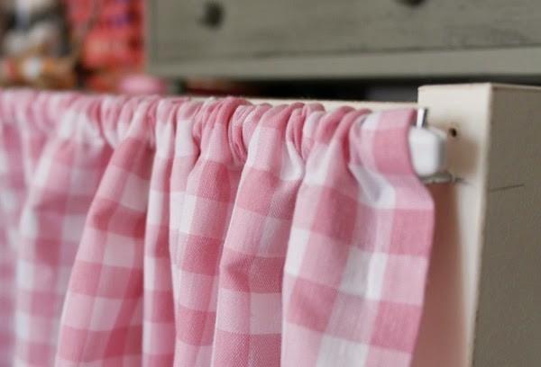 C mo hacer unas cortinas sin saber coser - Como colgar unas cortinas ...